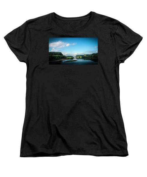Women's T-Shirt (Standard Cut) featuring the photograph River Islands by Marvin Spates