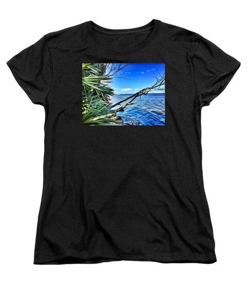 Riverside Women's T-Shirt (Standard Cut) by Carlos Avila