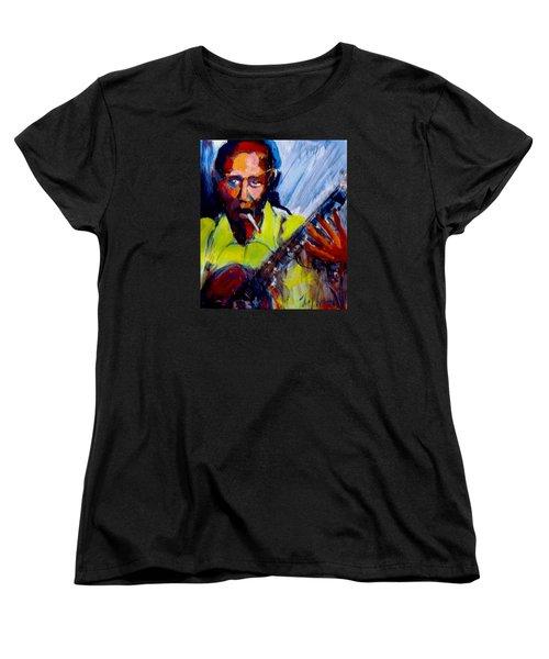 Robert Johnson Women's T-Shirt (Standard Cut) by Les Leffingwell