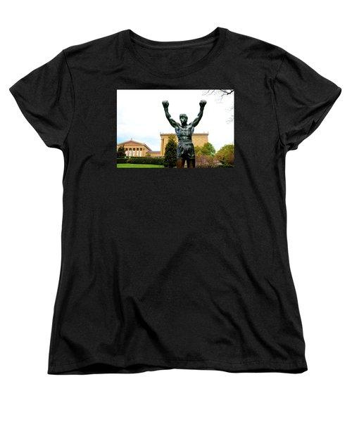 Rocky I Women's T-Shirt (Standard Cut) by Greg Fortier