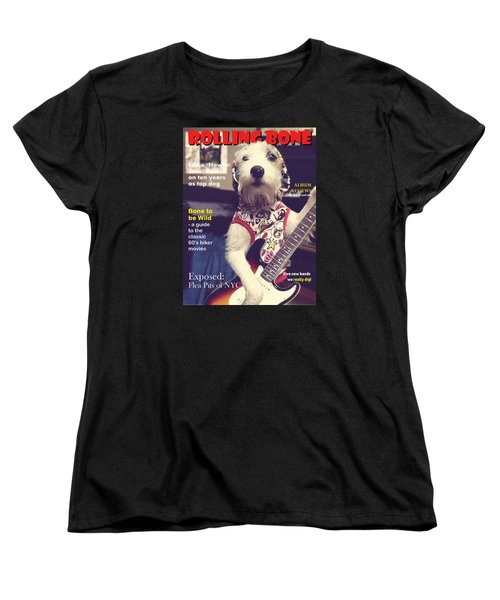 Rolling Bone Magazine Women's T-Shirt (Standard Cut) by Richard Reeve