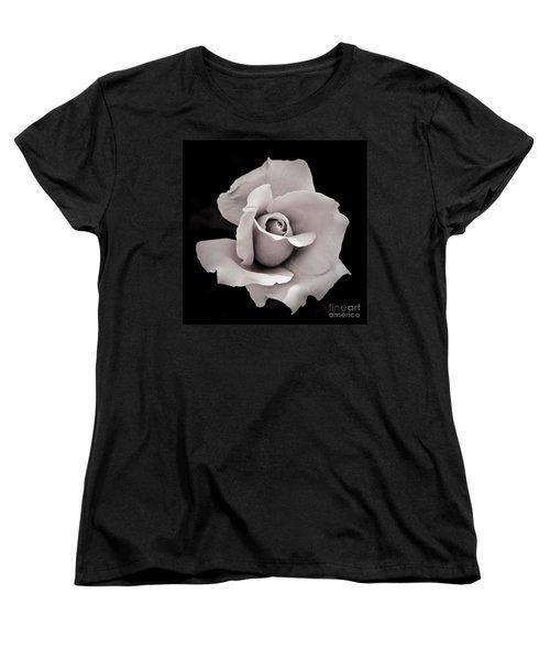 Rose Women's T-Shirt (Standard Cut) by Hitendra SINKAR