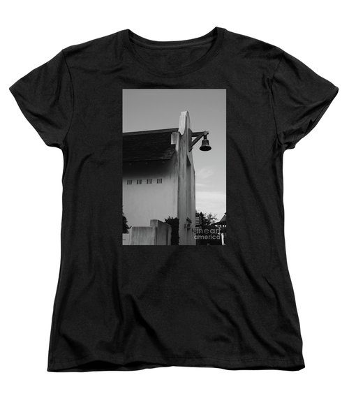 Rosemary Beach Post Office In Black And White Women's T-Shirt (Standard Fit)