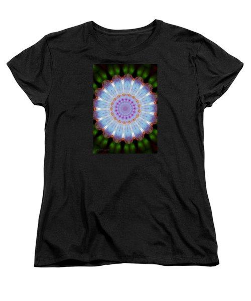 Rosepetals Mandala Women's T-Shirt (Standard Cut) by Mimulux patricia no No