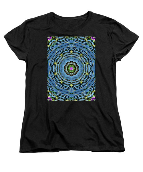 Round And Round  Women's T-Shirt (Standard Cut) by Christy Ricafrente