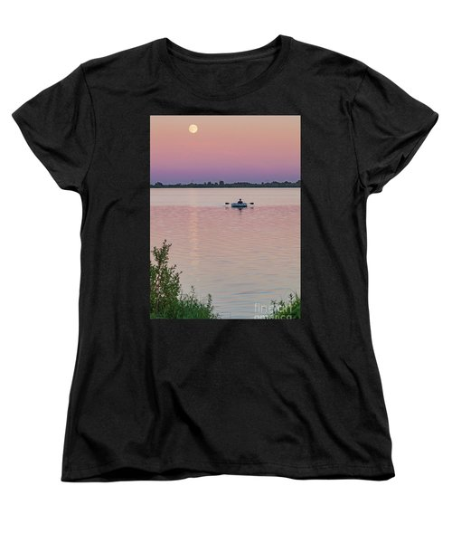 Rowing To The Moon Women's T-Shirt (Standard Cut)