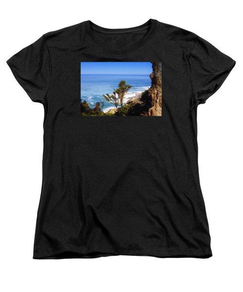 Rugged Beauty Women's T-Shirt (Standard Cut) by Kandy Hurley