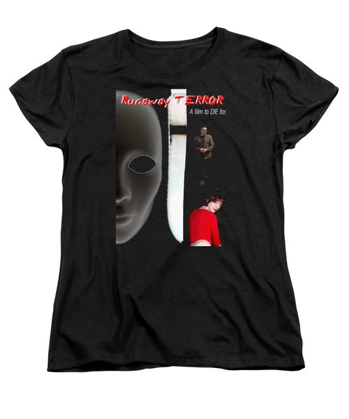 Runaway Terror 5 - Black Women's T-Shirt (Standard Cut) by Mark Baranowski