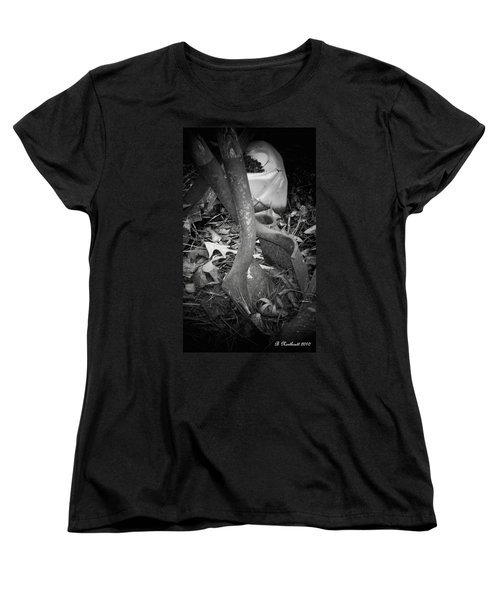 Women's T-Shirt (Standard Cut) featuring the photograph Rusty Embrace by Betty Northcutt