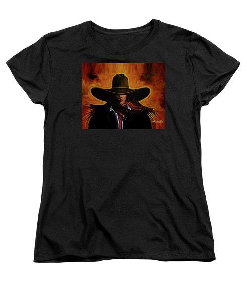 Rusty Women's T-Shirt (Standard Cut) by Lance Headlee