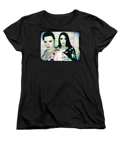 Ryli And Khrist 1 Women's T-Shirt (Standard Cut) by Mark Baranowski