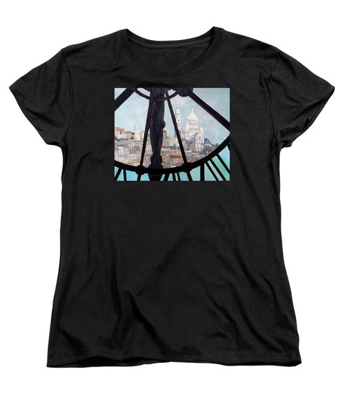 Sacre Coeur From Musee D'orsay Women's T-Shirt (Standard Cut) by Diane Arlitt