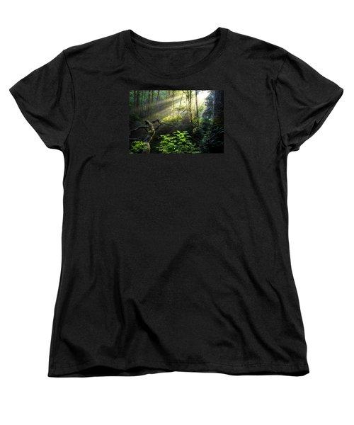 Sacred Light Women's T-Shirt (Standard Cut) by Chad Dutson