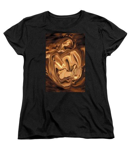 Safe-in-her-arms Women's T-Shirt (Standard Cut) by Rabi Khan