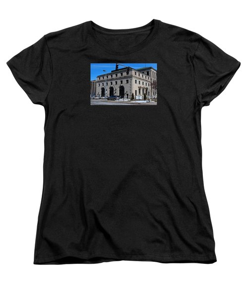 Safety Building Women's T-Shirt (Standard Cut) by Michiale Schneider