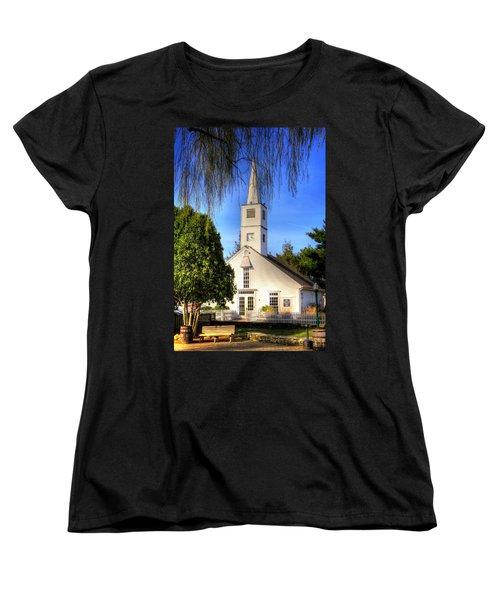 Women's T-Shirt (Standard Cut) featuring the photograph Saint Mathais Angelican Church by Tom Prendergast