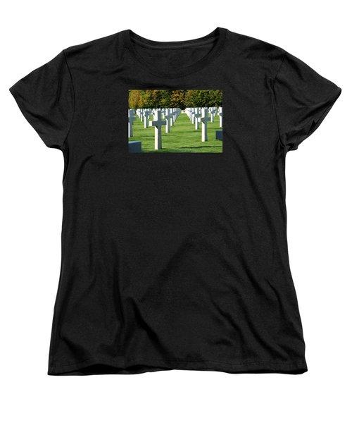 Saint Mihiel American Cemetery Women's T-Shirt (Standard Cut)