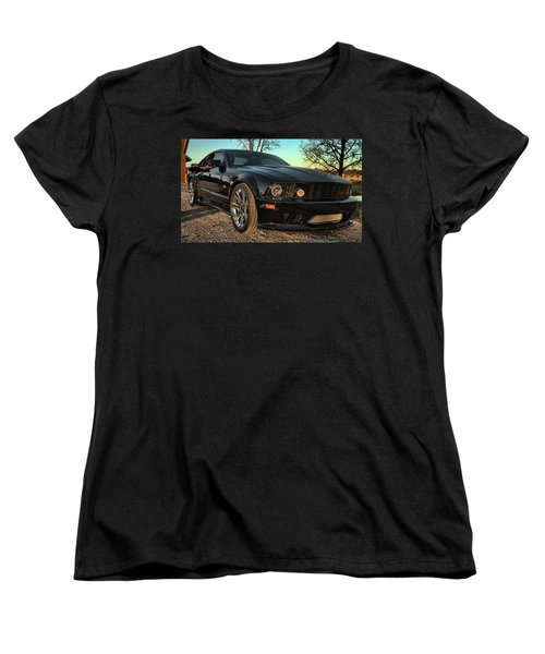 Saleen Women's T-Shirt (Standard Cut) by John Crothers