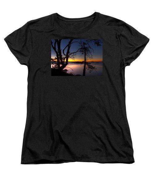 Salish Sunrise Women's T-Shirt (Standard Cut) by Randy Hall