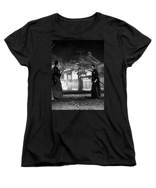 Samjuro Women's T-Shirt (Standard Cut) by Dan Twyman