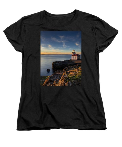 Women's T-Shirt (Standard Cut) featuring the photograph San Juan Island Serenity by Dan Mihai