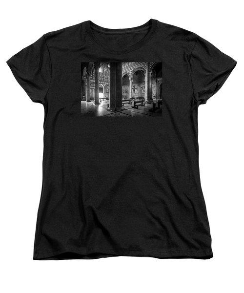 Women's T-Shirt (Standard Cut) featuring the photograph San Miniato Al Monte by Sonny Marcyan