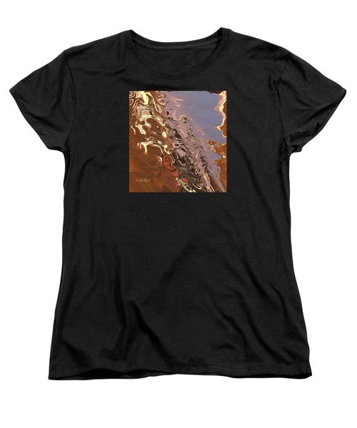 Sand Bank Women's T-Shirt (Standard Cut) by Alika Kumar