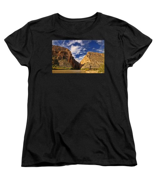 Santa Elena Canyon 3 Women's T-Shirt (Standard Cut) by Judy Vincent
