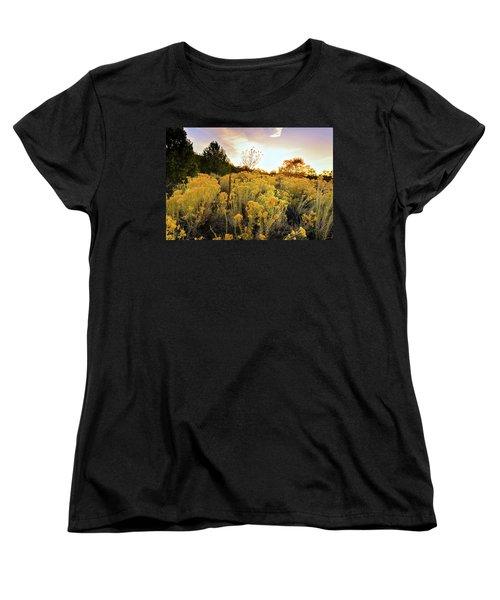 Santa Fe Magic Women's T-Shirt (Standard Cut) by Stephen Anderson