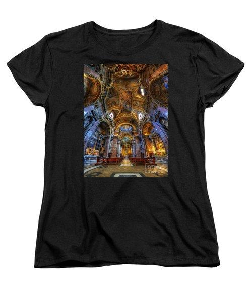 Santa Maria Maddalena Women's T-Shirt (Standard Cut) by Yhun Suarez
