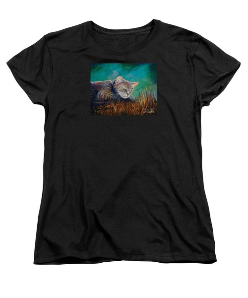 Saphira's Lawn Women's T-Shirt (Standard Cut) by AnnaJo Vahle