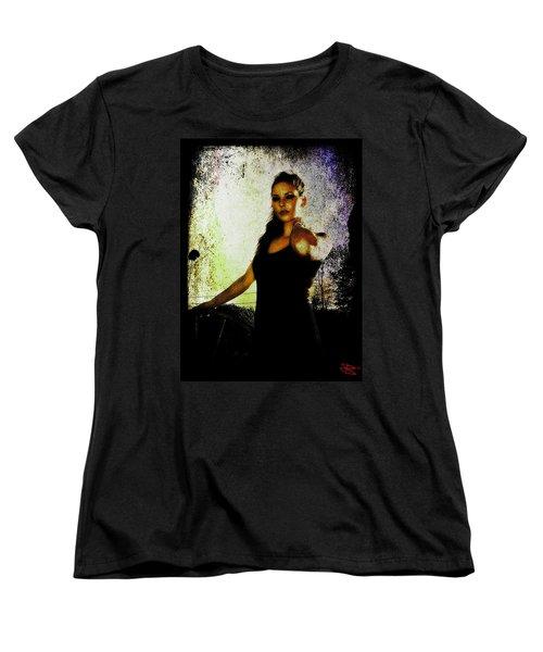 Sarah 1 Women's T-Shirt (Standard Cut) by Mark Baranowski