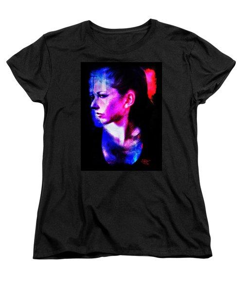 Sarah 2 Women's T-Shirt (Standard Cut) by Mark Baranowski