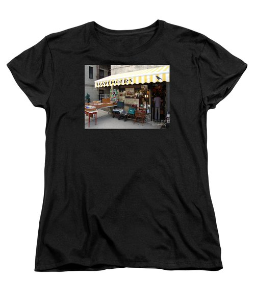 Women's T-Shirt (Standard Cut) featuring the photograph Scavengers by Cole Thompson