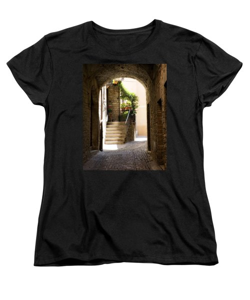 Scenic Archway Women's T-Shirt (Standard Cut) by Marilyn Hunt