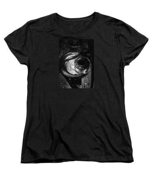 Scissors And Tape Women's T-Shirt (Standard Cut) by Mimulux patricia no No