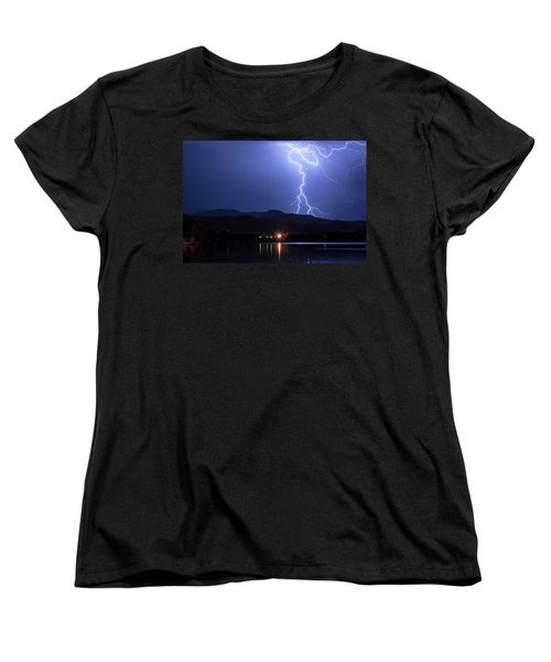 Women's T-Shirt (Standard Cut) featuring the photograph Scribble In The Night by James BO Insogna
