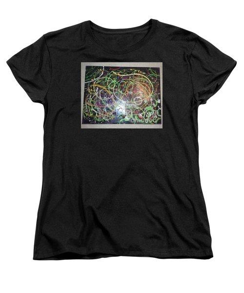Scribble Women's T-Shirt (Standard Cut) by Talisa Hartley