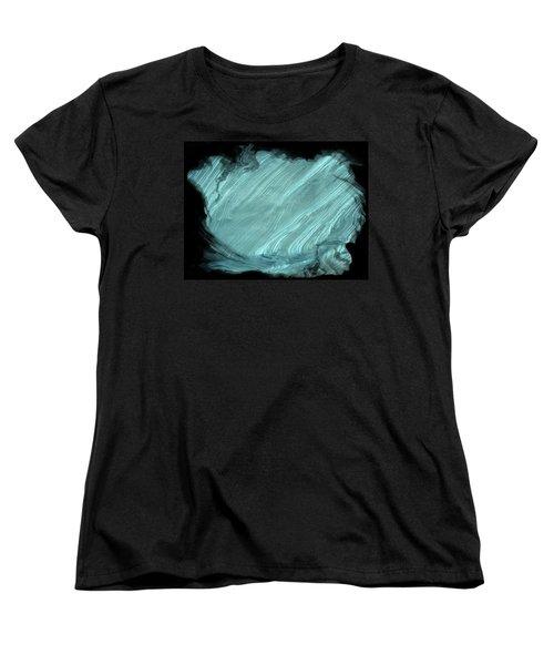 Women's T-Shirt (Standard Cut) featuring the photograph Sea Blue by Athala Carole Bruckner