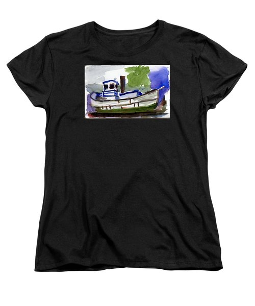 Sea Breeze Women's T-Shirt (Standard Cut) by Tom Simmons