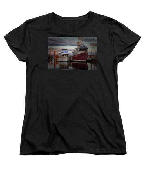 Women's T-Shirt (Standard Cut) featuring the photograph Sea Rake by Randy Hall