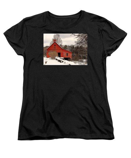 Season's Greetings Women's T-Shirt (Standard Cut) by Betsy Zimmerli