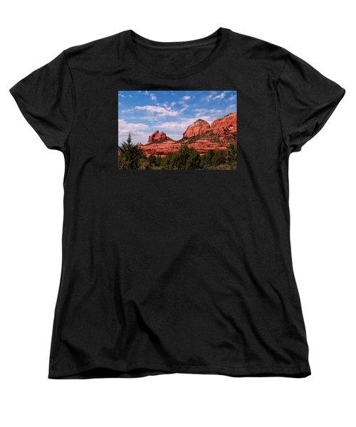Sedona Az Women's T-Shirt (Standard Cut) by Tom Prendergast
