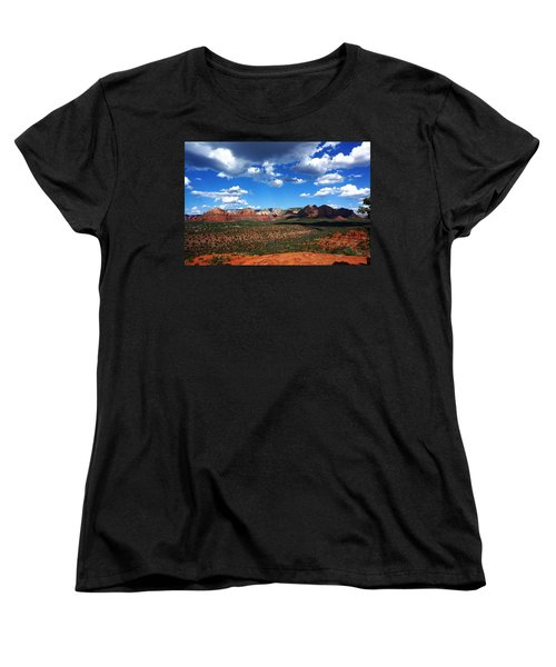 Sedona Women's T-Shirt (Standard Cut) by Julia Ivanovna Willhite