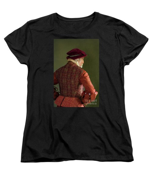 Senior Tudor Man Women's T-Shirt (Standard Cut) by Lee Avison