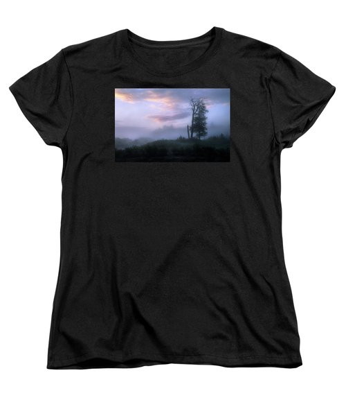 Sentinels In The Valley Women's T-Shirt (Standard Cut) by Dan Jurak