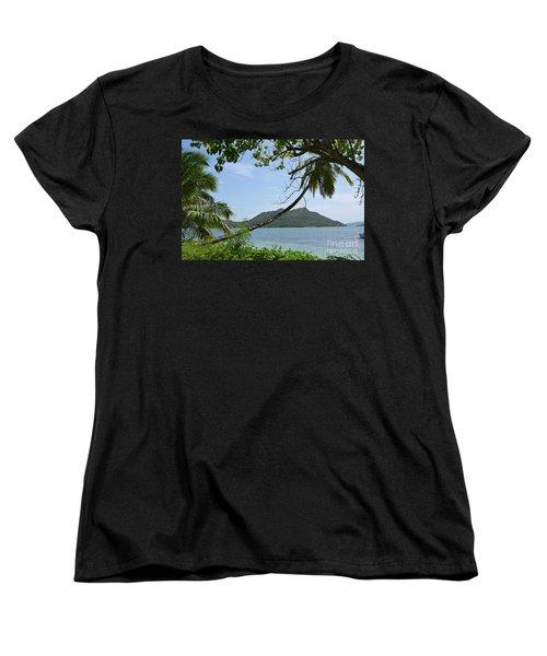 Seychelles Islands 2 Women's T-Shirt (Standard Cut) by Eva Kaufman