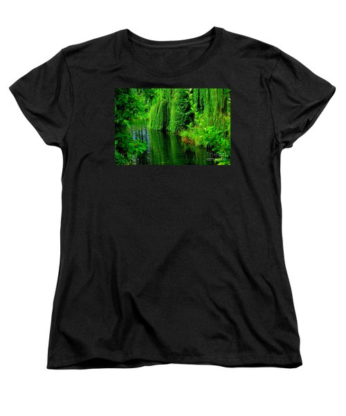 Shade Tree Women's T-Shirt (Standard Cut) by Greg Patzer