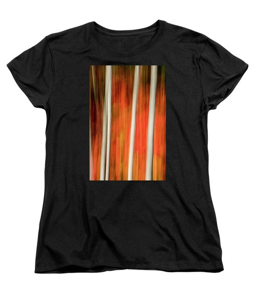 Women's T-Shirt (Standard Cut) featuring the photograph Shades Of Amber And Marmalade  by Dustin LeFevre