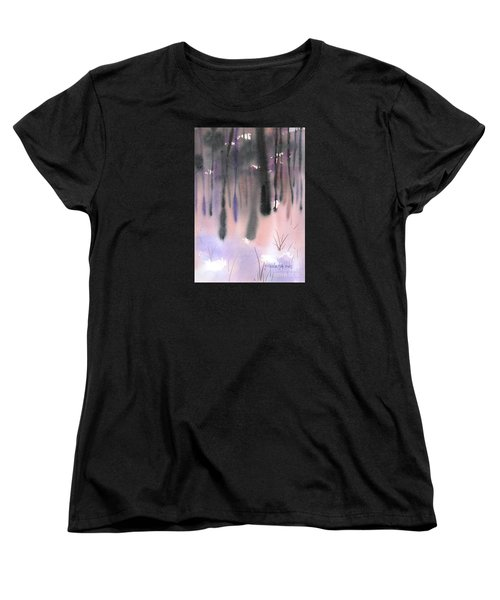 Shades Of Forest Women's T-Shirt (Standard Cut) by Yolanda Koh